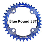 Bicycle Crank 104BCD Round Shape Narrow Wide 32T/34T/36T/38T MTB - primeonlineshop