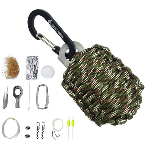 Camping Equipment - Survival Kit - Fishing Kit - prime shop