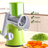 Vegetable Chopper - Grater with 3 Round Stainless - primeonlineshop