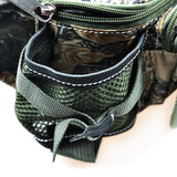 30x9x14cm Multifunctional Carp Fishing Bag 218g Army Green Camouflage - primeonlineshop