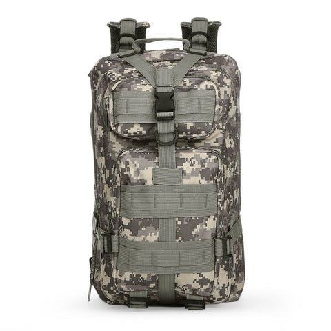 30L 3P Army Military Tactical Backpack - Outdoor Camping Rucksack - primeonlineshop