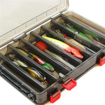 14 grid Portable Outdoor Fishing Gear Baits Box - Plastic Fishing Tackle Box 20 - primeonlineshop