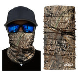 Fishing - Hunting - 3D Jungle Tree Camo Neck | Prime Shop