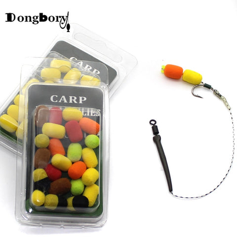 20PCS - Cylinder Carp Fishing Bait - Pop Up Carp Boilies | Prime Shop