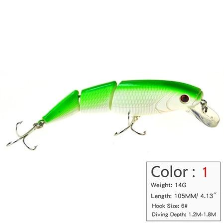 3-Teiliger Hard Bait Wobbler 110mm / 15g - primeonlineshop