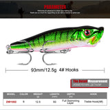 HOT Fishing Bait - Crankbait - Wobbler - 3d Eyes | Prime Shop
