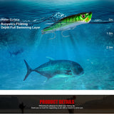 HOT Bait Crankbait Popper Wobbler - 3d Eye's - primeonlineshop