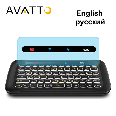 Mini Keyboard with 2.4G - Wireless - IR Remote for Smart TV - Tablet - PC | Prime Shop