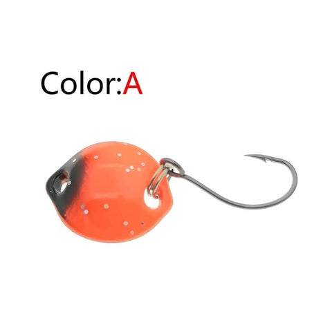 OUTKIT 1Pcs Multicolor 1.4cm 1.8g Mini Spoon Spinnerbait | Prime Shop