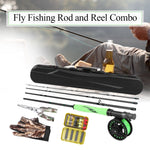 Portable Fly Fishing Rute im Set - primeonlineshop