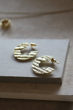 Plateau Earrings Gold