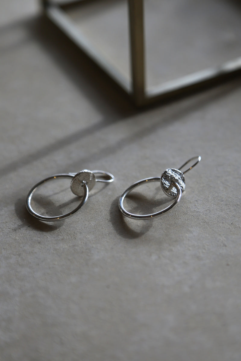 Tideline Earrings Silver