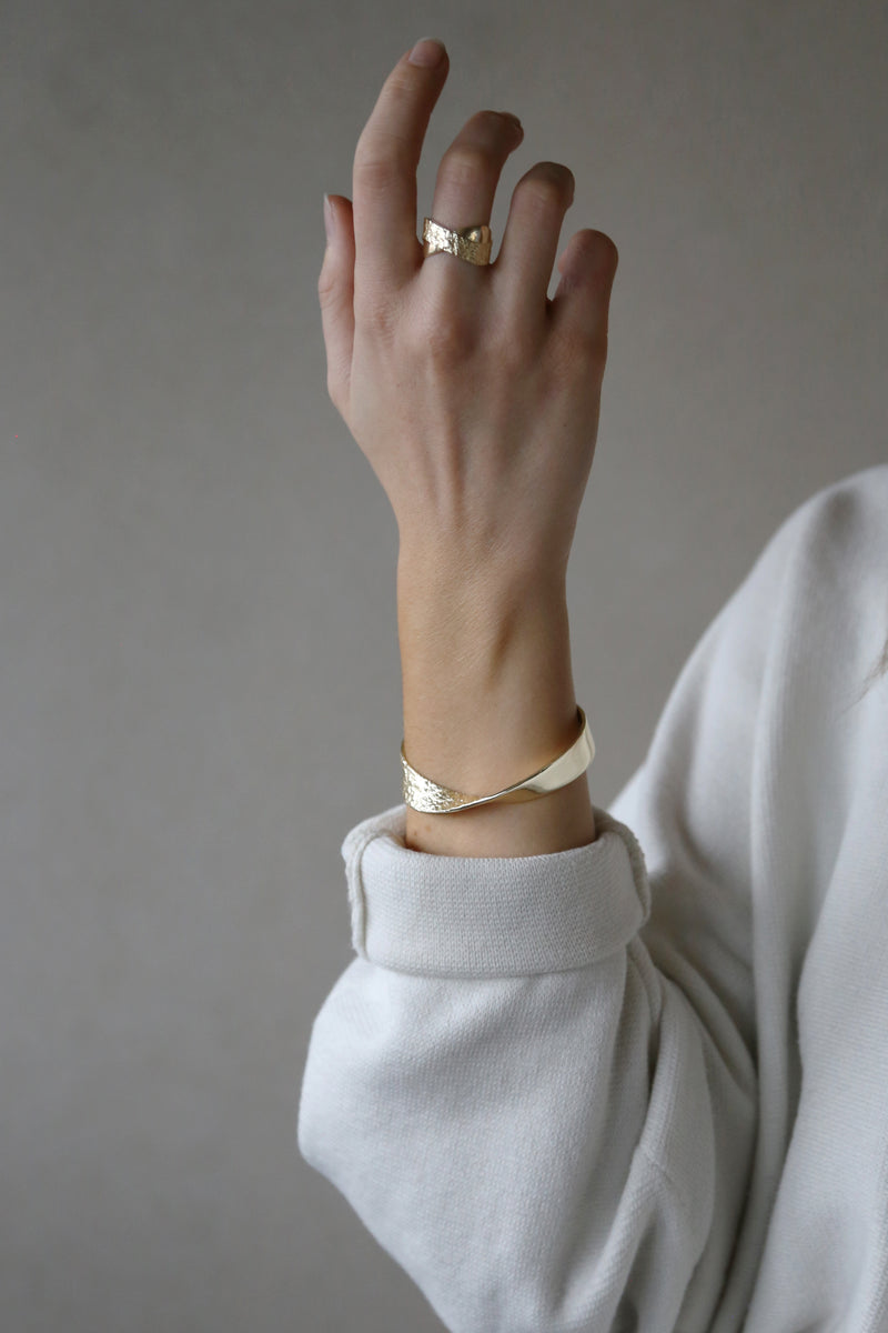 Reflection Bangle Gold