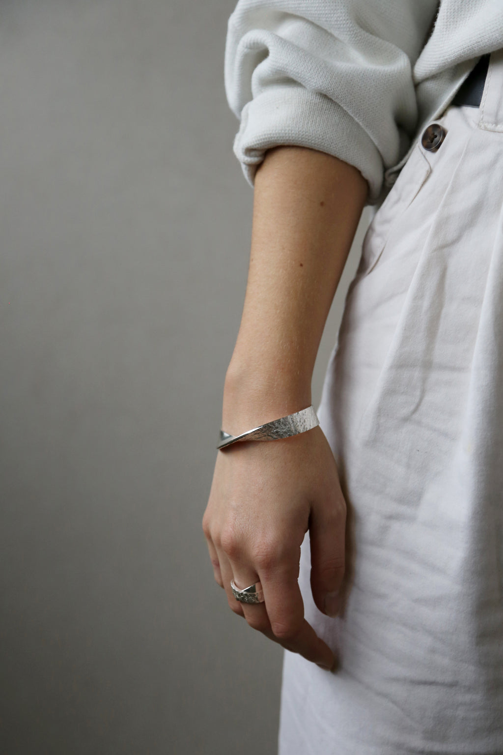 Reflection Bangle Silver