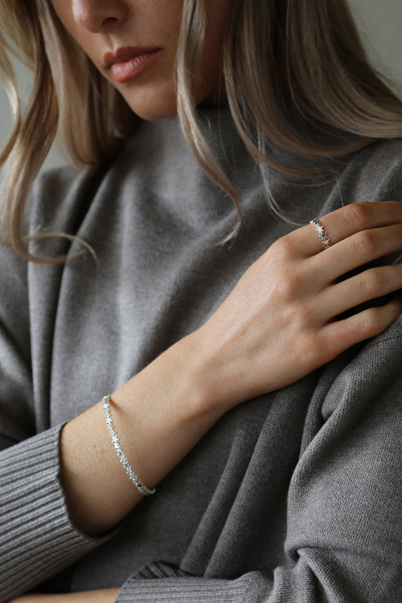 Stardust Ring Silver