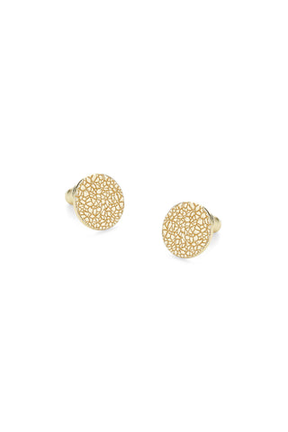 Organic Earrings Gold