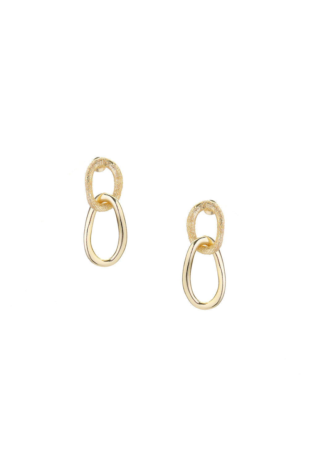 Fusion Earrings Gold