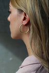 Texture Earrings Gold