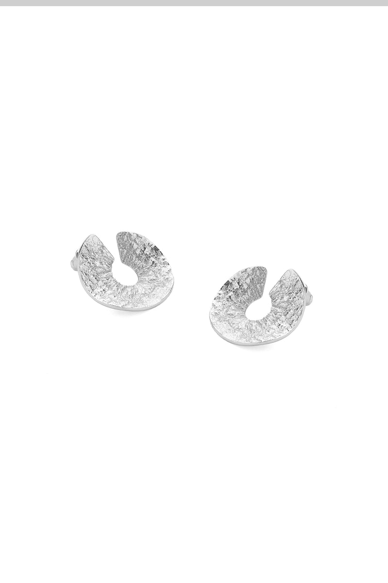 Sole Earrings Silver