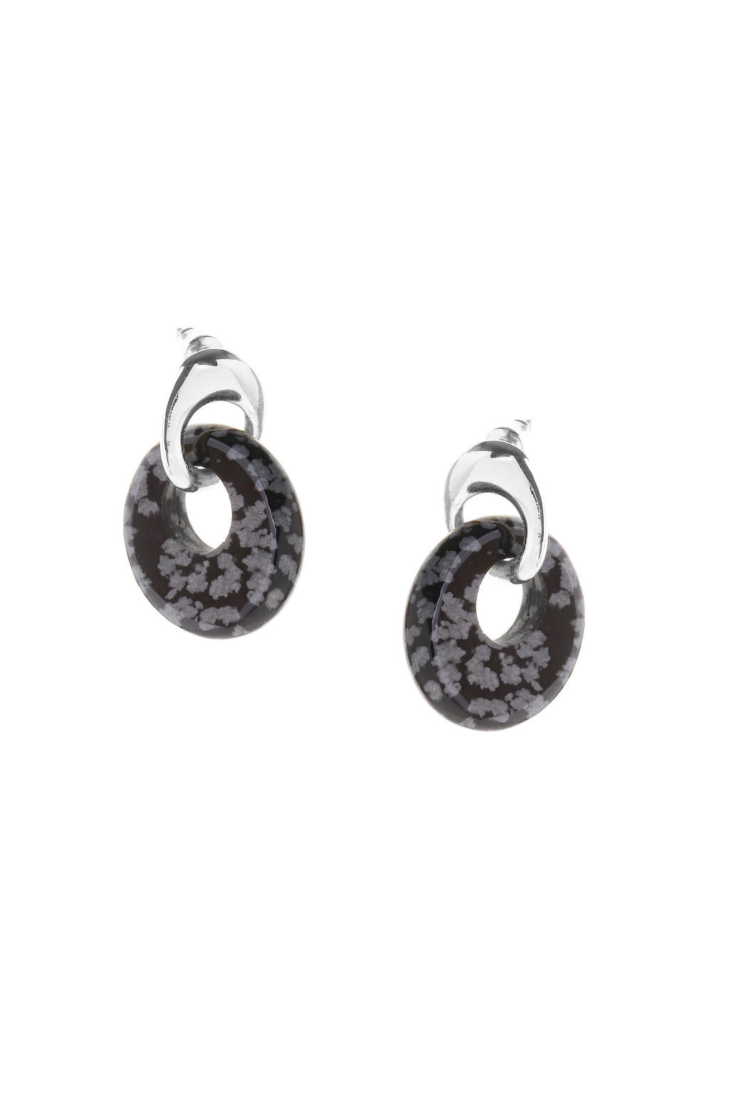Sculpt Earrings Silver