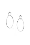 Surface Earrings Silver