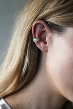 Flair Ear Cuff Silver