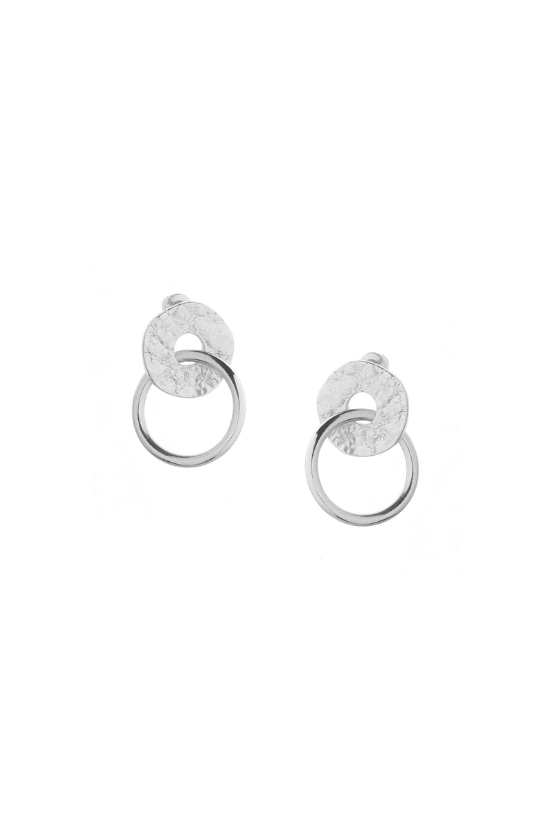 Infinity Earrings Silver
