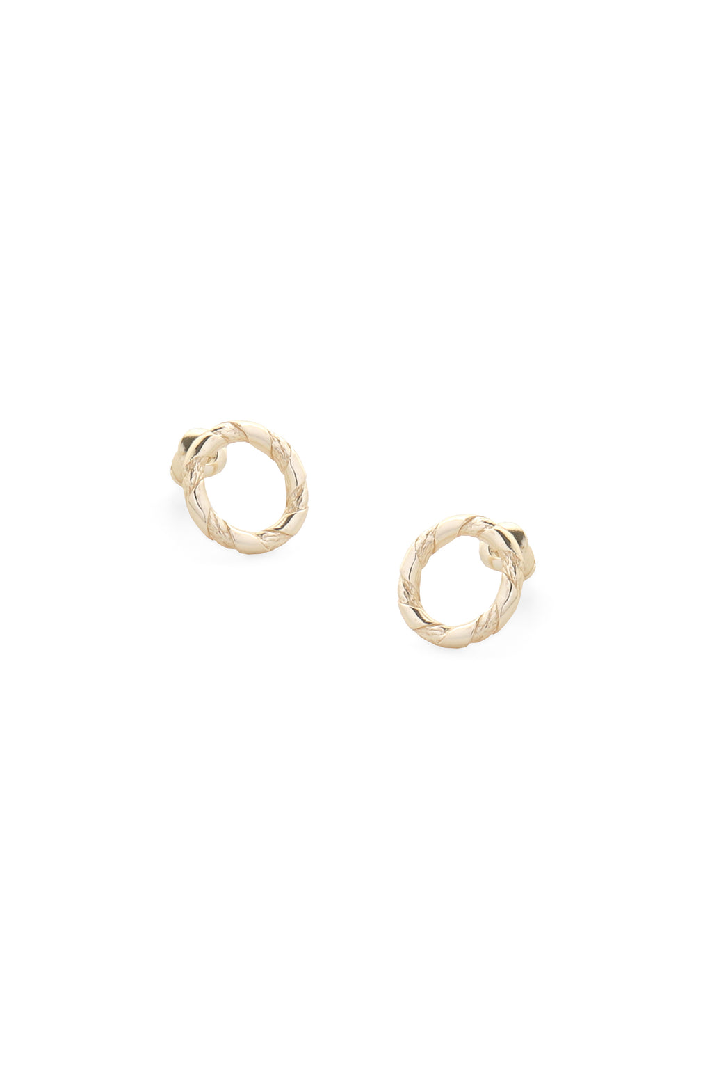 Rope Earrings Gold