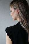 Glide Earrings Silver