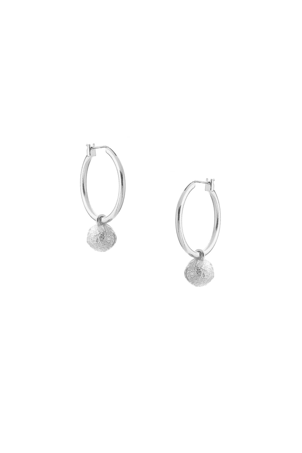 Evolve Earrings Silver