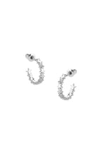 Stardust Earrings Silver