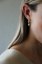 Courage Earrings Gold