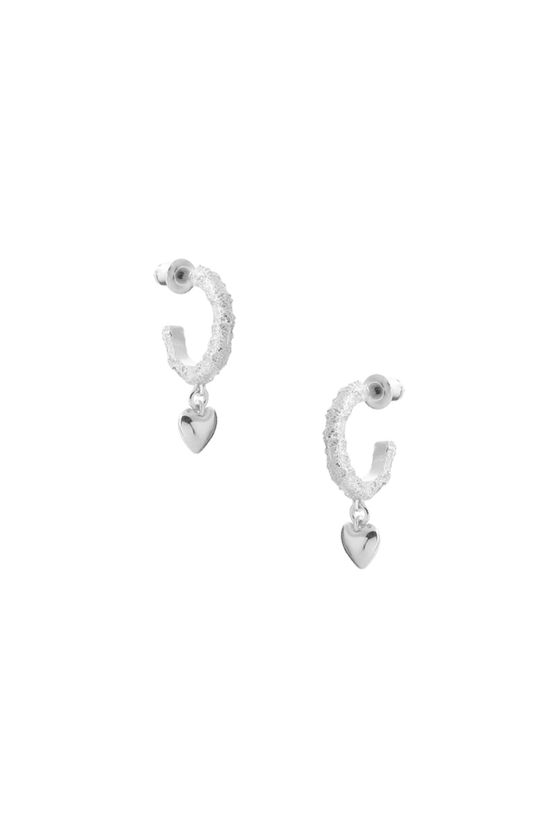 Courage Earrings Silver