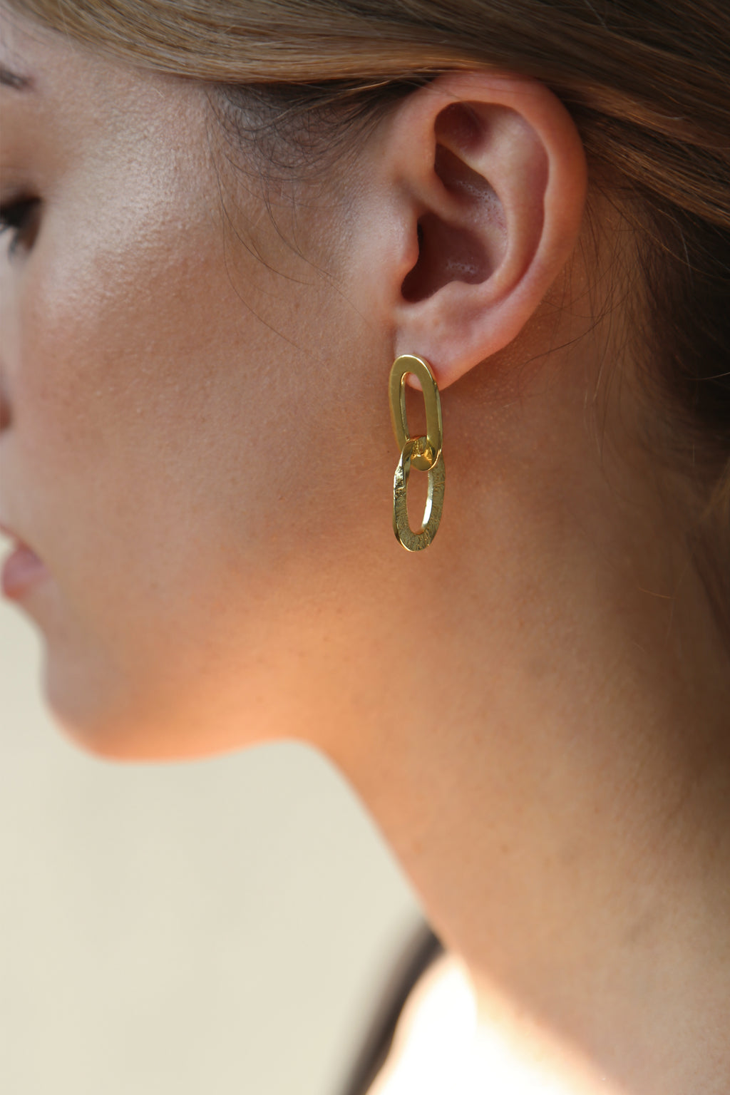 Pacific Earrings Gold
