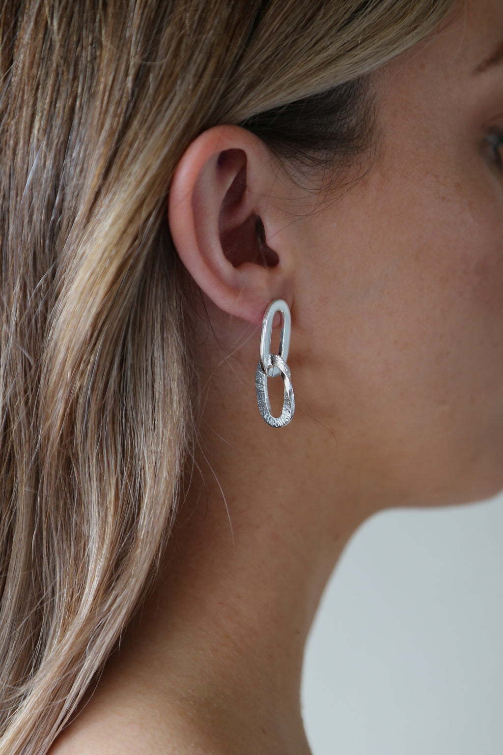 Pacific Earrings Silver