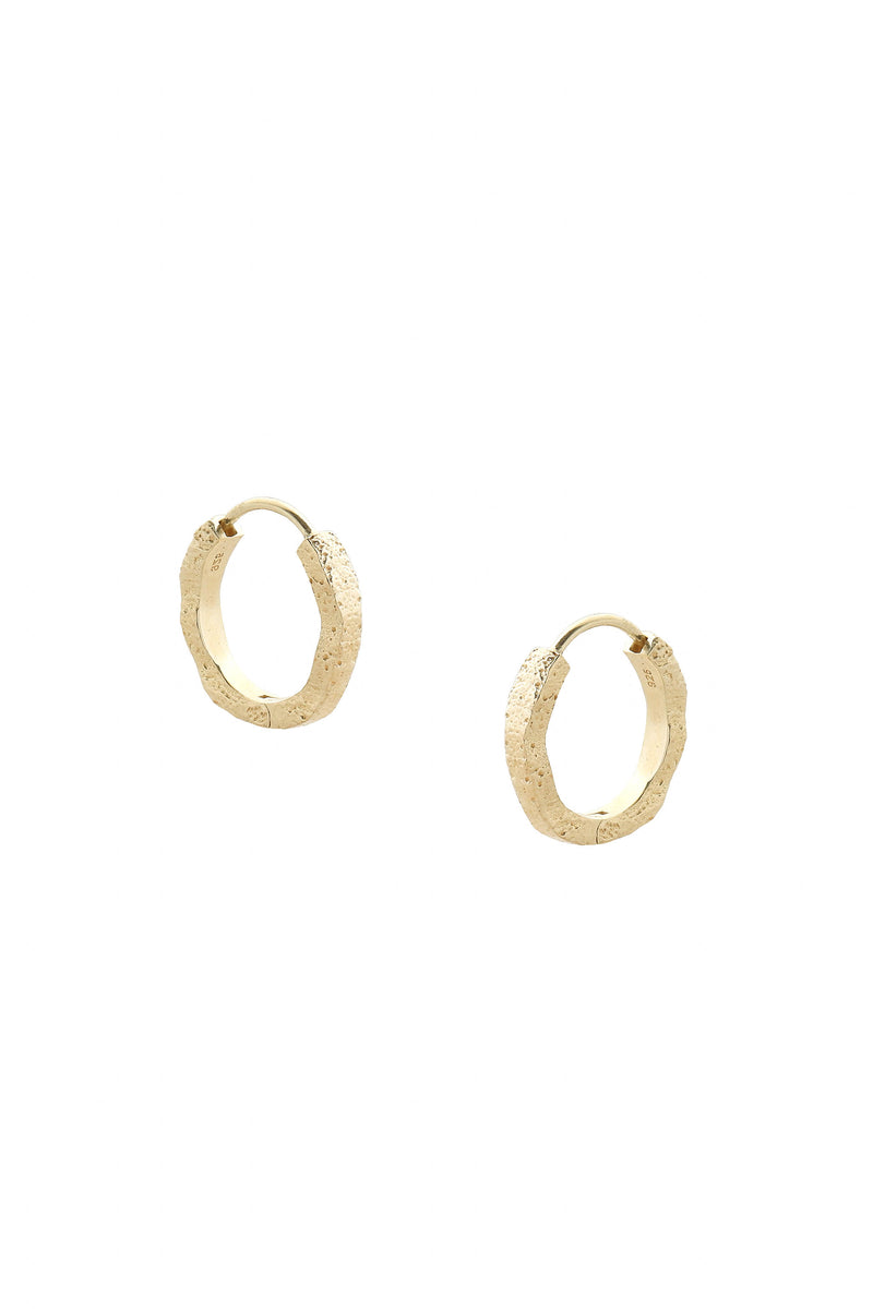 Loch Earrings Gold