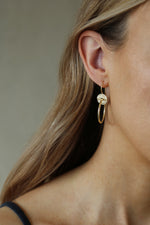 Tideline Earrings Gold