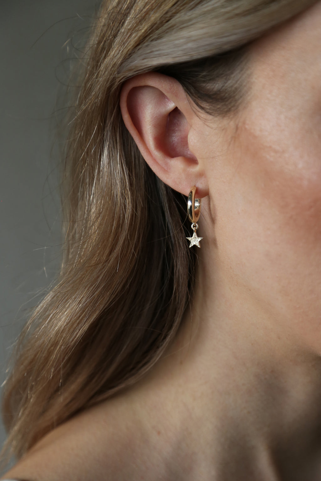 Gaze Earrings Gold