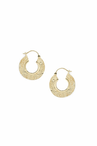 Mineral Earrings Gold