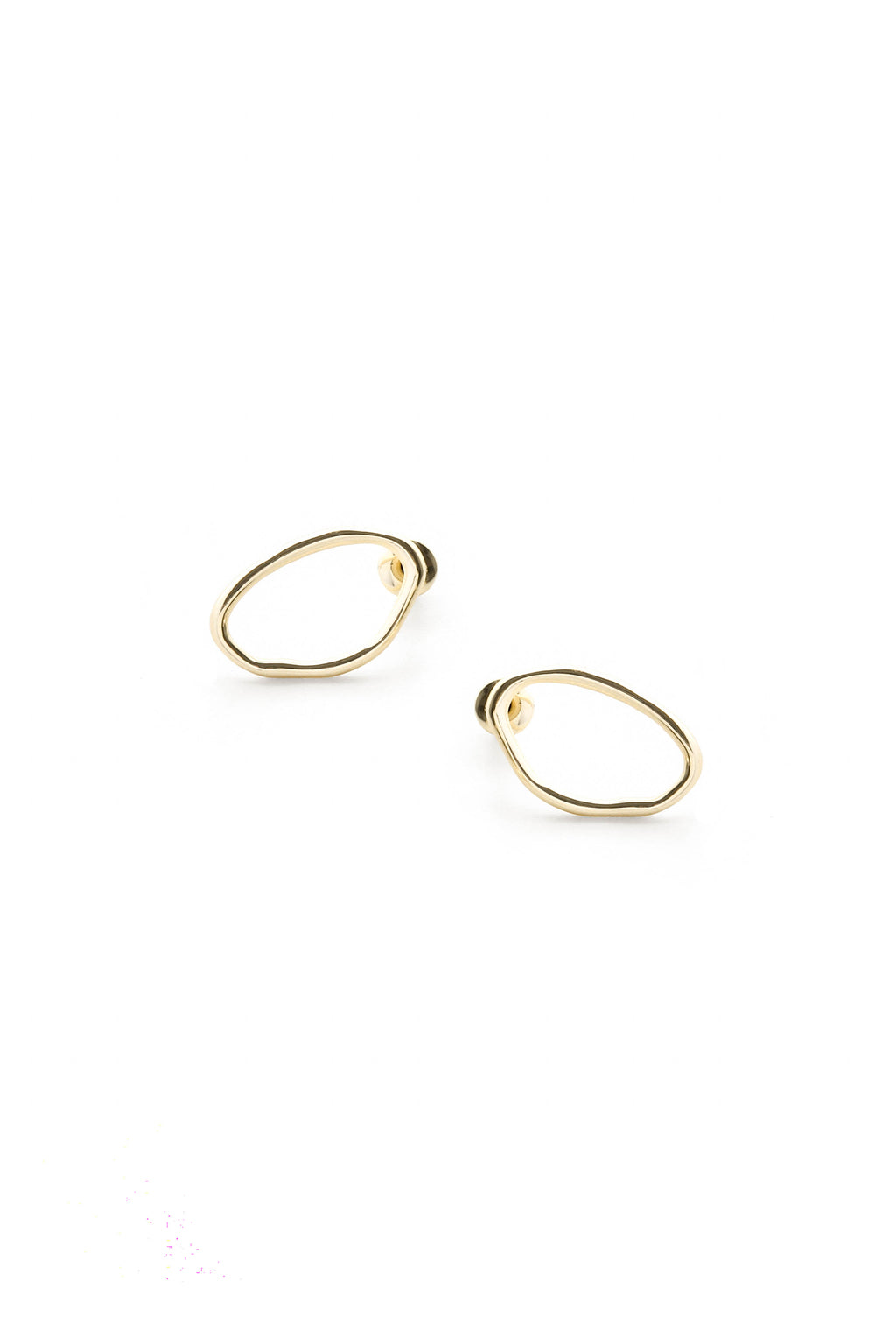 Calm Earrings Gold