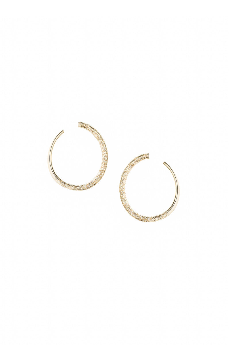 Coast Earrings Gold