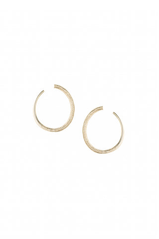 Lunar Earrings Silver