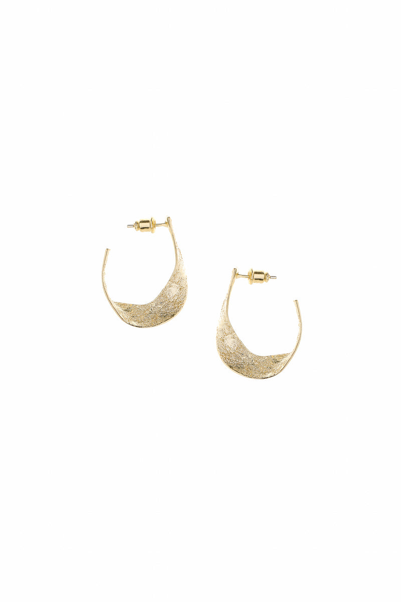 Tide Earrings Gold