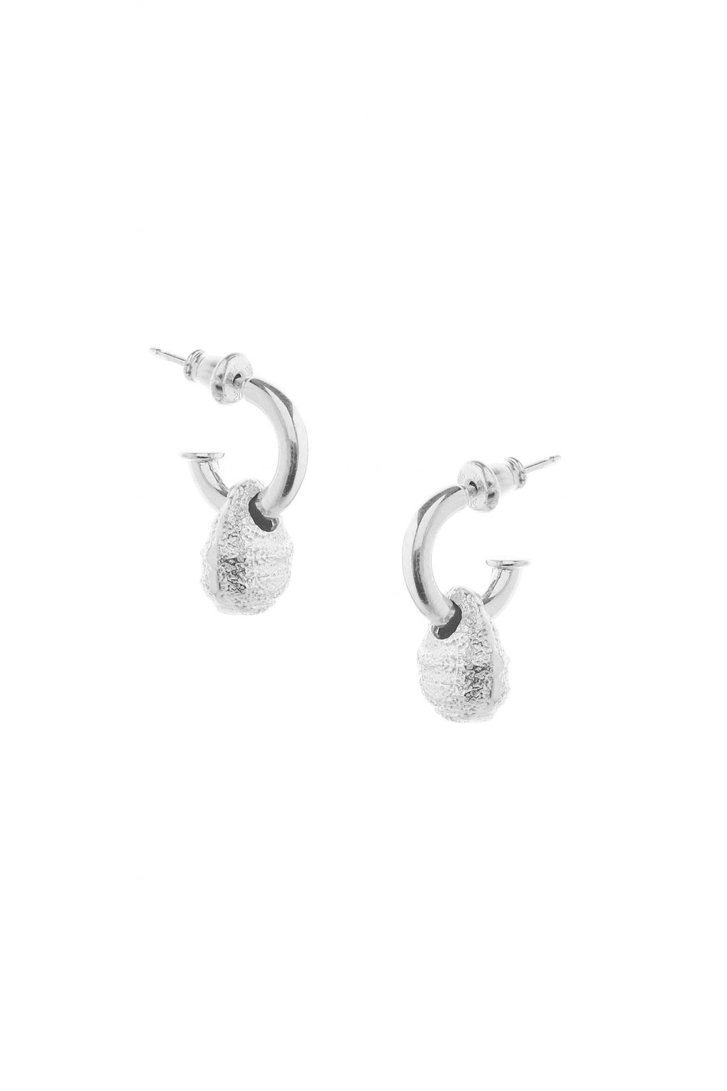 Priory Earrings Silver