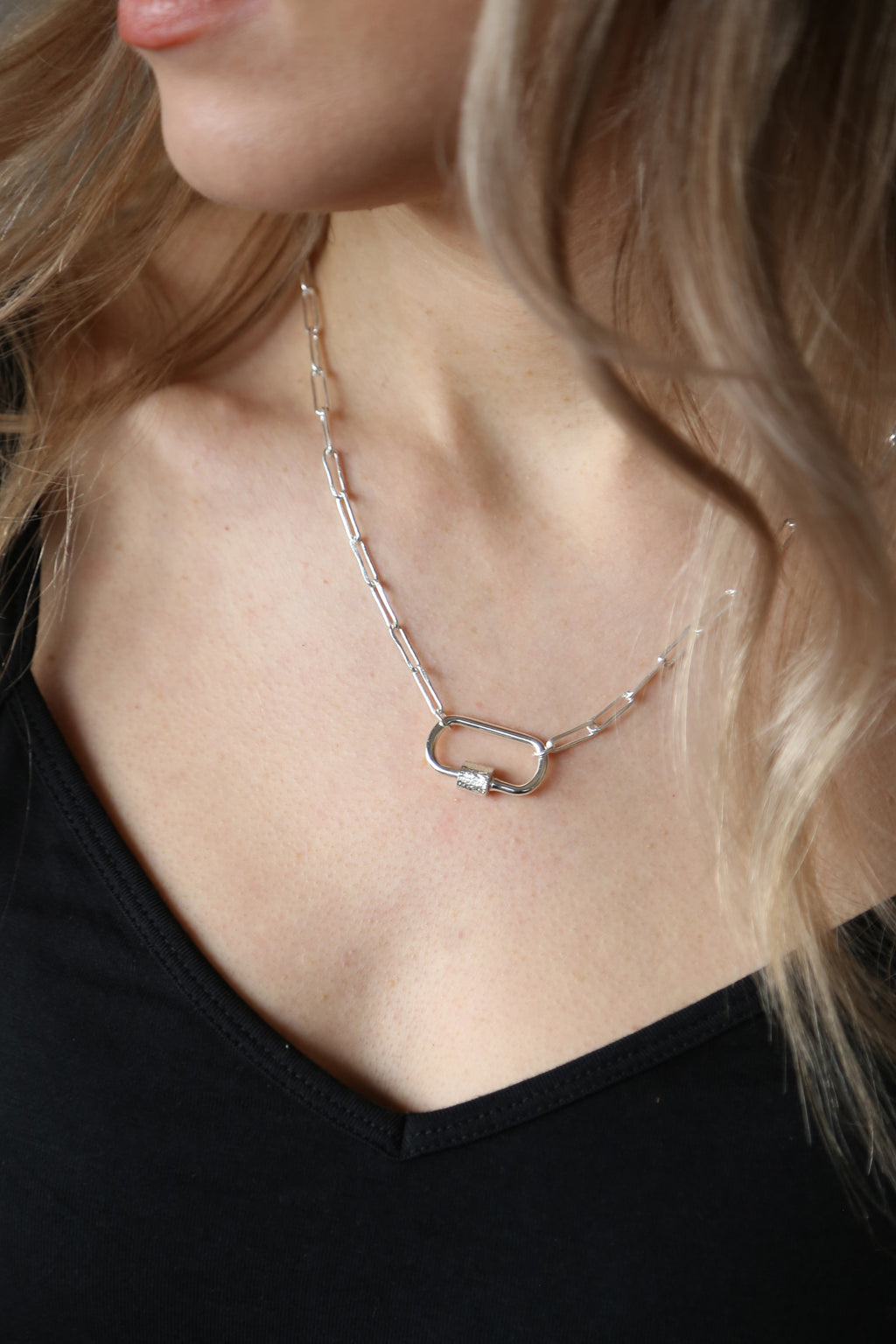 Mist Necklace Silver