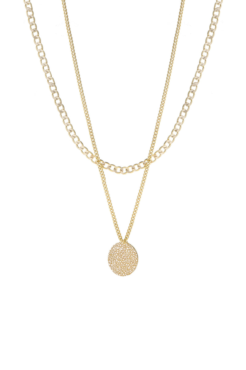 Surface Necklace Gold