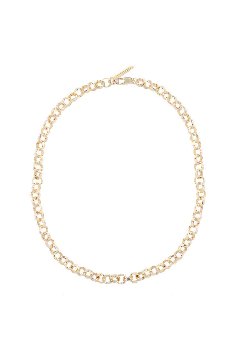 Marine Necklace Gold
