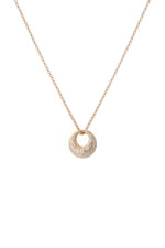 Dome Necklace Gold