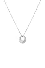 Dome Necklace Silver