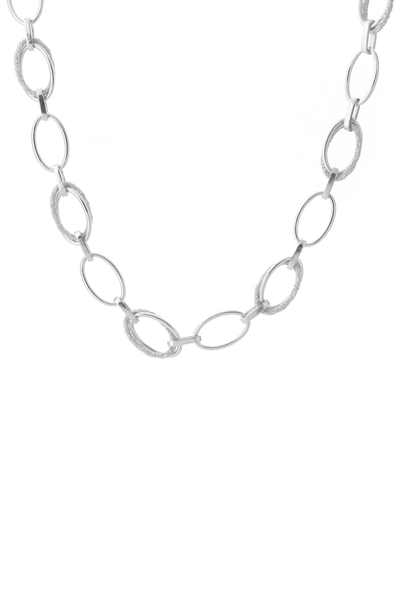 Echo Necklace Silver